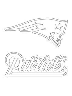 New-England-Patriots-Logo-coloring-page-from-NFL-category.-Select New England Patriots Logo coloring page from NFL category. Select from 23013 pri...