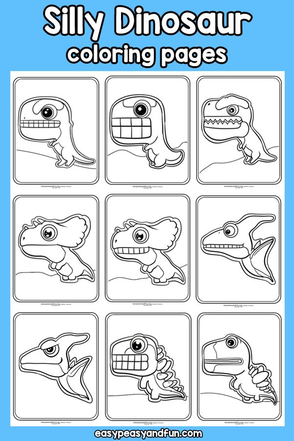 Silly Dinosaur Coloring Pages – Easy Peasy and Fun Membership Wallpaper