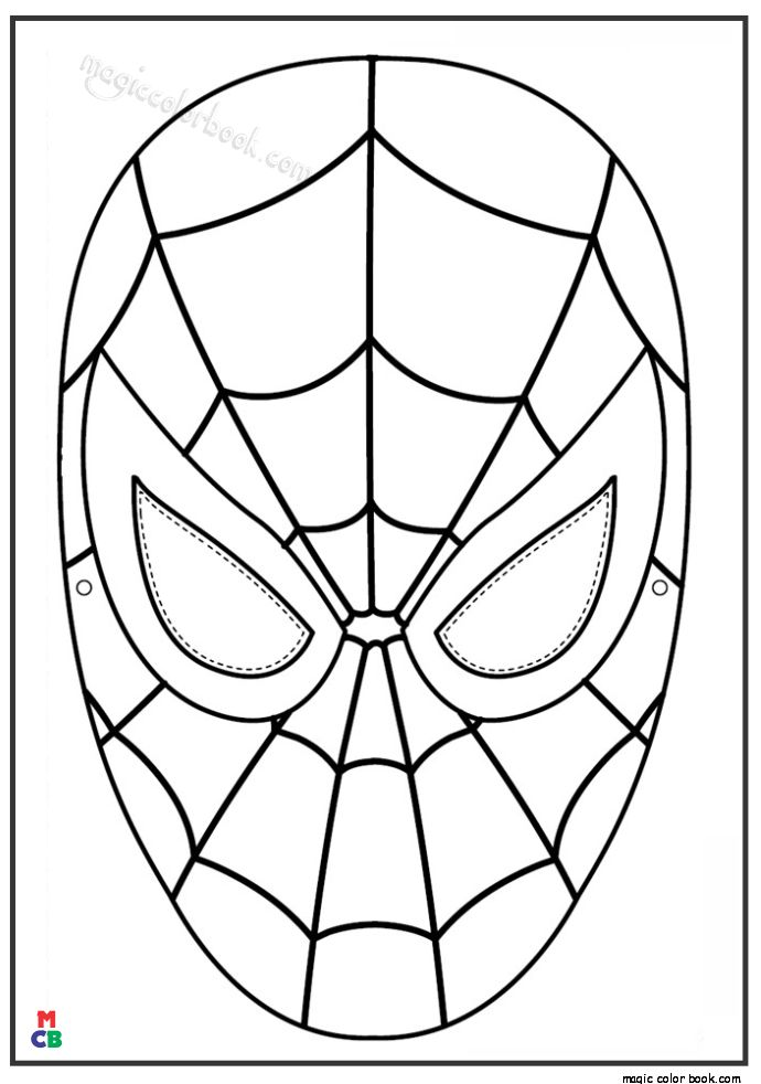 Spiderman Coloring Pages Hero Wallpaper