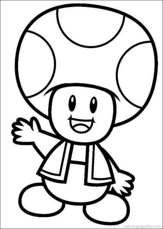 Mario Brothers Coloring Pages Super Mario Bros Coloring Pages 40