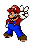 #Mario_victory from the official artwork set for #SuperMarioBros Deluxe on the #… Wallpaper