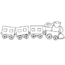 26 Best Train Coloring Pages Your Toddler Will Love To Color Wallpaper