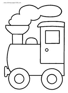Train color page transportation coloring pages, color plate, coloring sheet,prin… Wallpaper