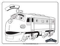 chuggington wilson train coloring pages Wallpaper