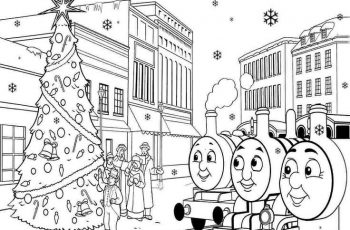 thomas the train coloring pages to print free for toddlers