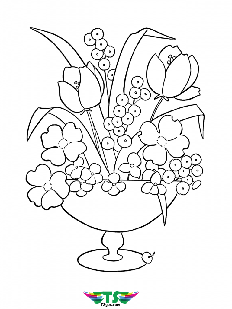 beautiful-flower-coloring-page-free-and-printable-768x1024 Beautiful flower coloring page free and printable picture