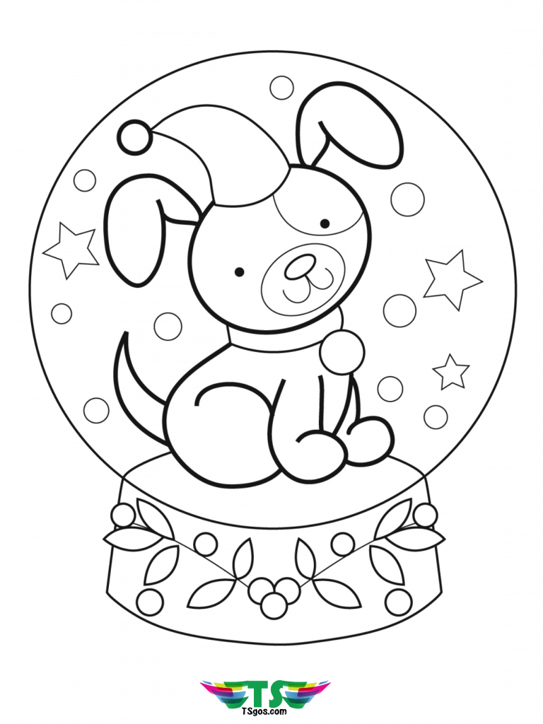 free-easy-dog-coloring-page-for-toddlers-768x1024 Free and easy dog coloring page for toddlers