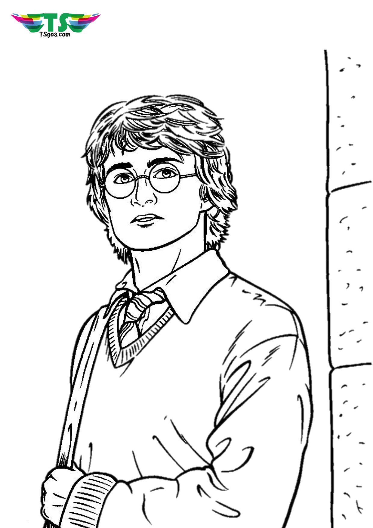 Harry Potter coloring pages - TSgos.com