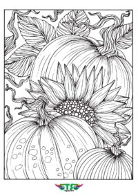 Free Fall Coloring Page From Tsgos