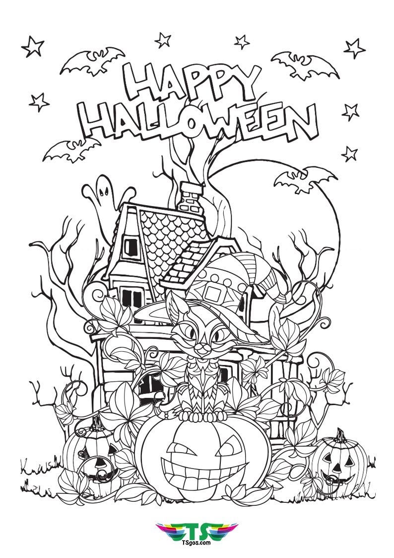 happy-halloween-coloring-page - TSgos.com