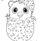 Hatchimals Colleggtibles Hamster coloring page